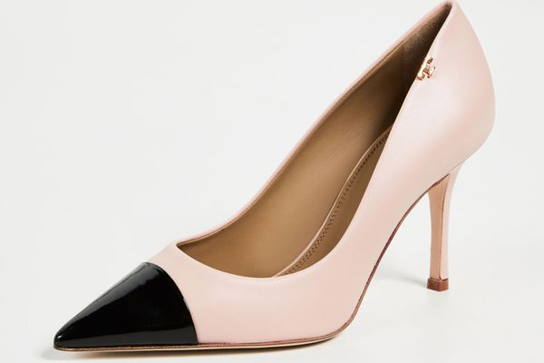 Tory Burch Penelope Cap Toe Pumps