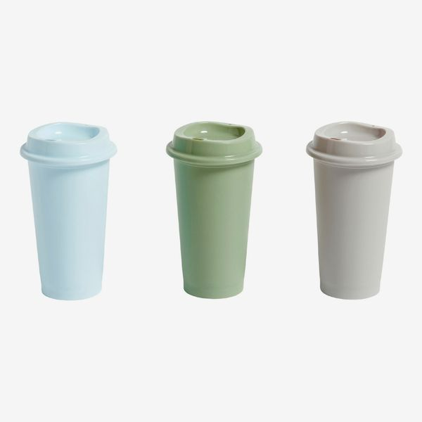 HAY Paquet Reusable Coffee Cups - Set of 3