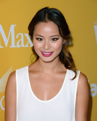 Actress Jamie Chung arrives at the 2012 Women In Film Crystal + Lucy Awards held at The Beverly Hilton Hotel on June 12, 2012 in Beverly Hills, California.