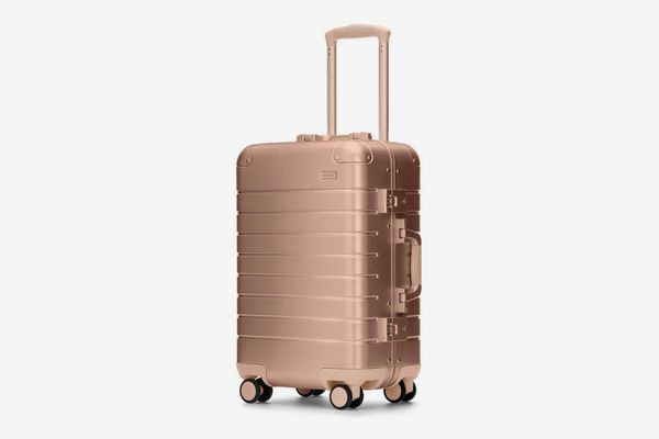 Away Aluminum Edition Carry-On, Rose Gold