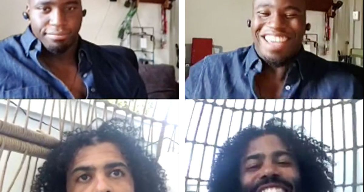 Okieriete Onaodowan and Daveed Diggs Discuss Hamilton's Slavery Issue