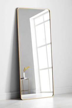 Modern Streamline Floor Mirror