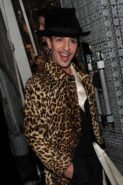 Designer John Galliano attends the Dior celebration of the reopening of its 57th Street Boutique at the LVMH Tower Magic Room on December 8, 2010 in New York City
