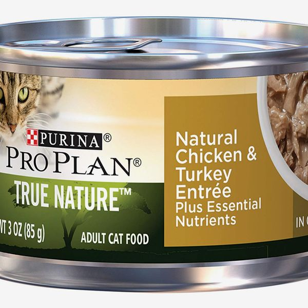 Purina Pro Plan True Nature Natural Chicken & Turkey Entree in Gravy Canned Cat Food