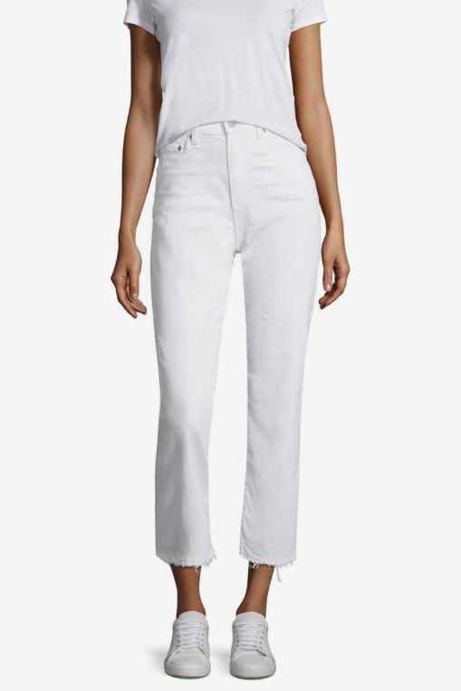 7f6a307476ad3 The 14 Best White Jeans for Women of All Sizes 2018