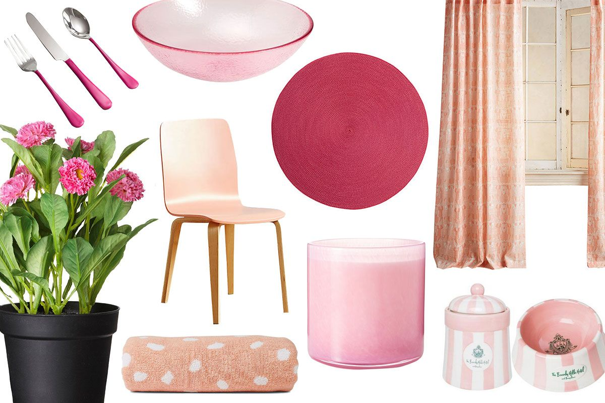 16 Pieces Of Pink Dcor For Under 100 That We Really