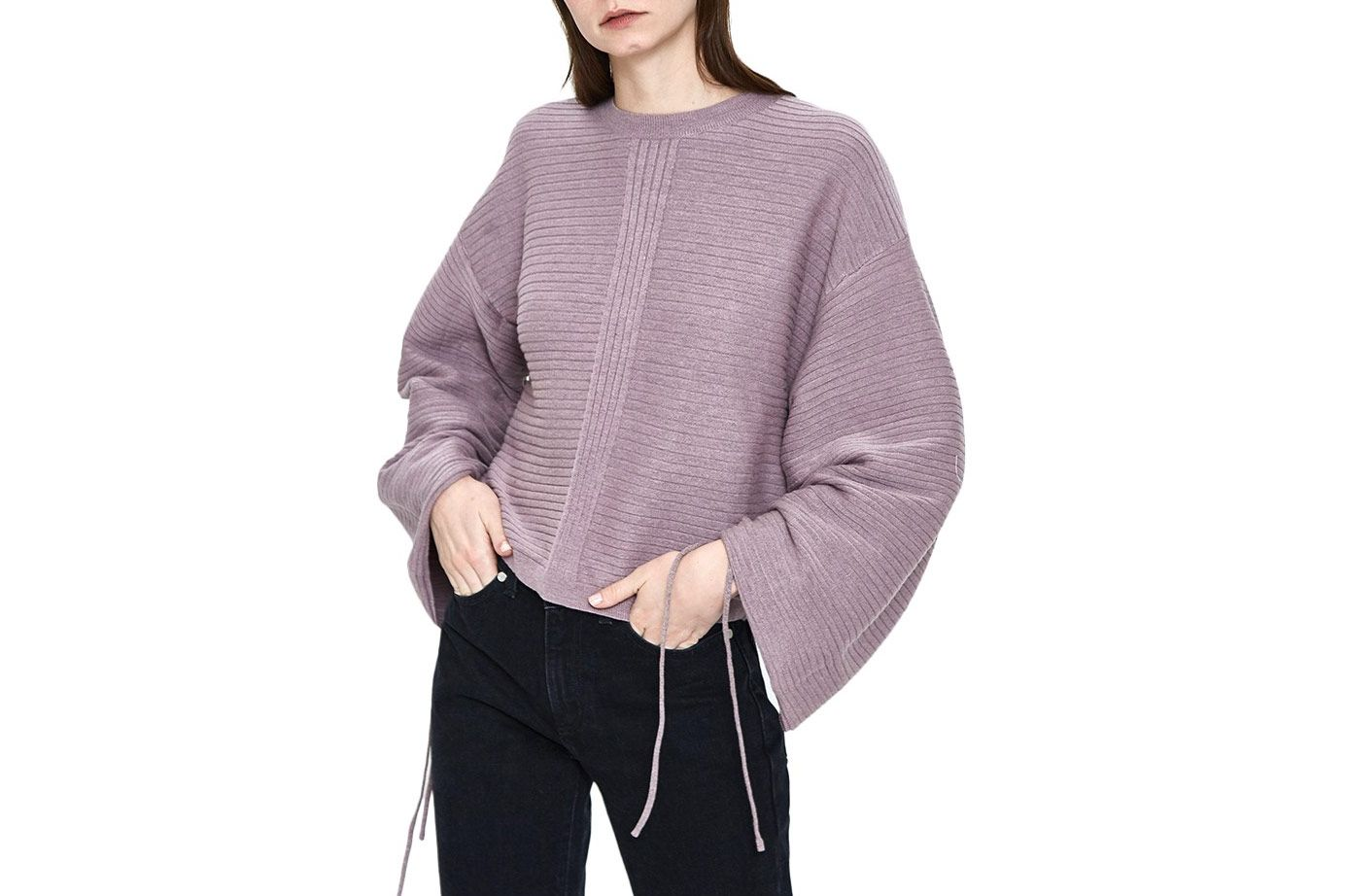 Stelen Irina Sweater in Heather Violet