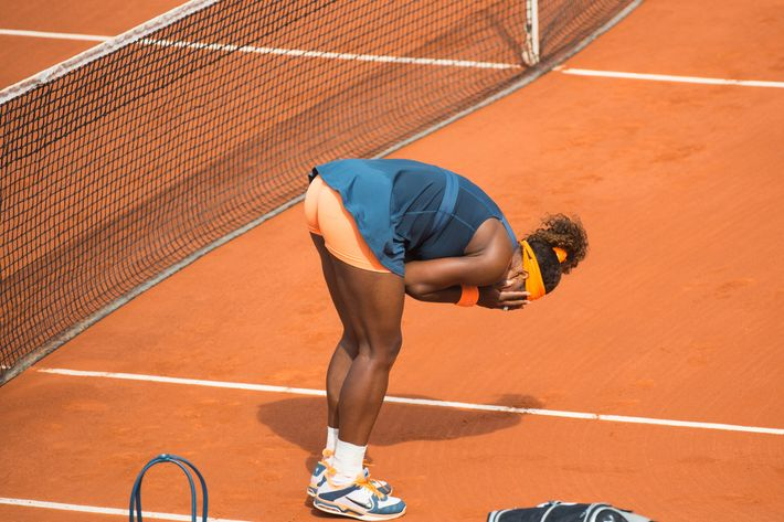 Serena Williams wins the French open 2013 at Roland Garros on June 8, 2013 in Paris, France.