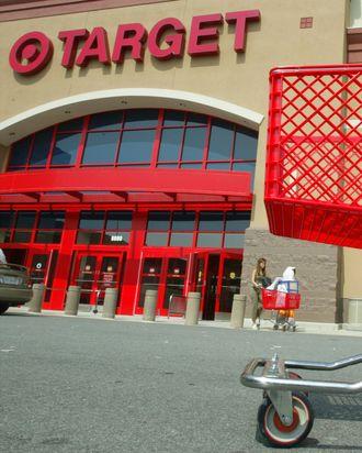 Customers leave Target August 14, 2003 in Springfield, Virgina.