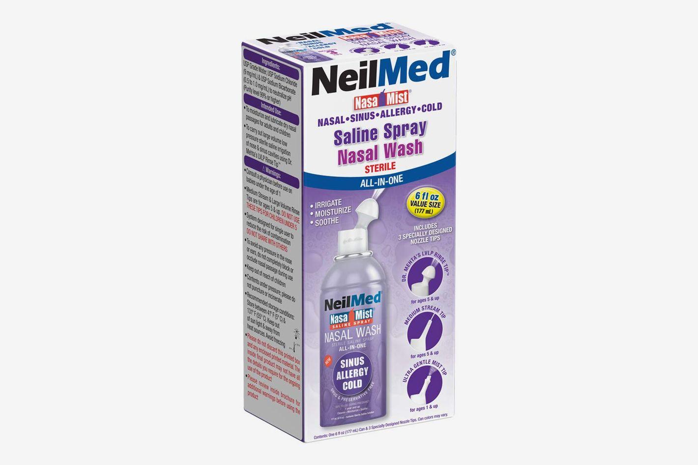 NeilMed Nasa Mist Multi-Purpose Saline Spray All in One