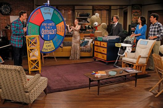 """Who Wants To Be A Godparent"" -"" When Lily and Marshall can't decide on godparents for Marvin, they put the gang to the test to see who would make the best one, on HOW I MET YOUR MOTHER, Monday, Oct. 15 (8:00-8:30 PM, ET/PT) on the CBS Television Network."