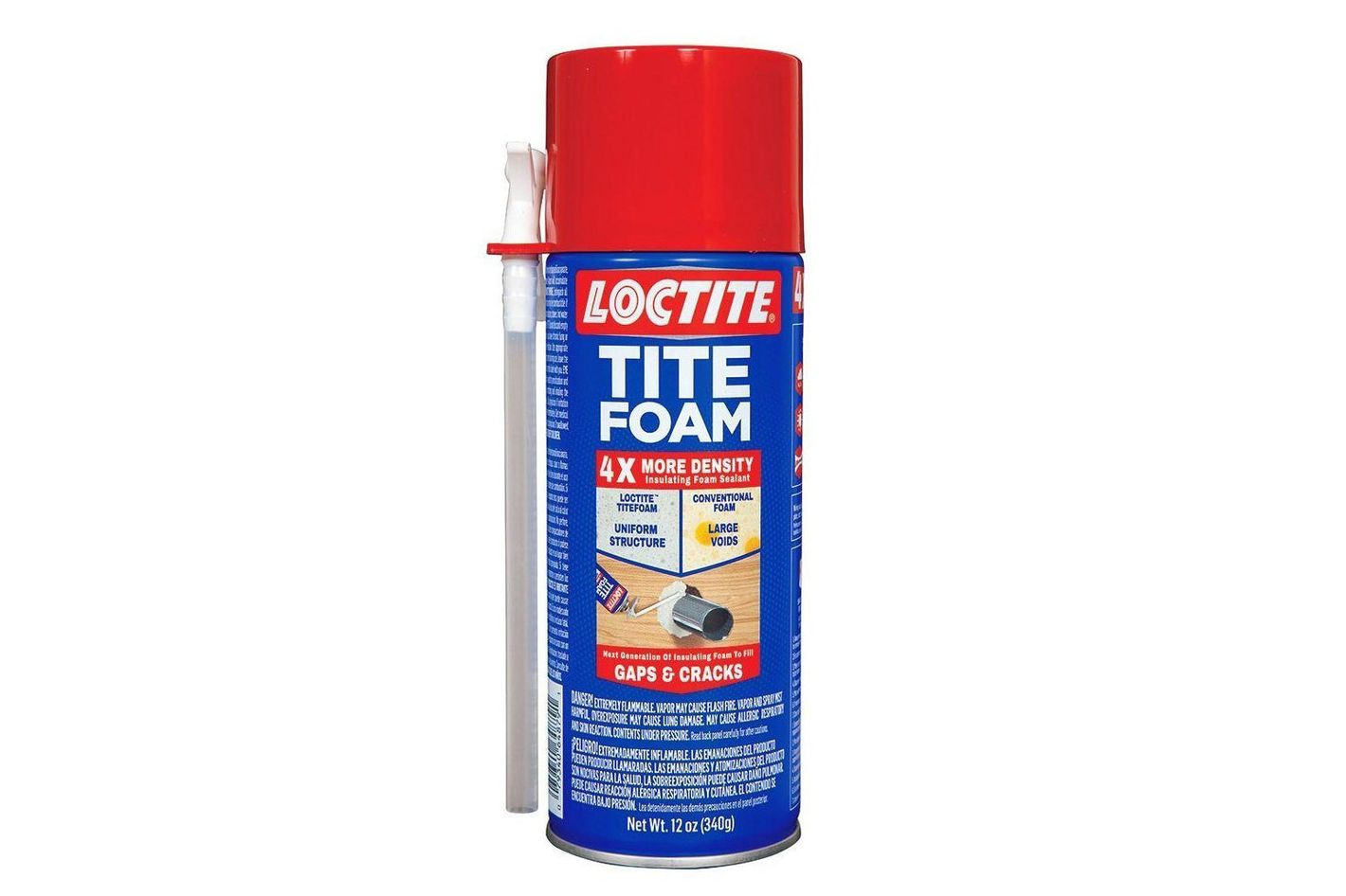 Henkel-Loctite 1988753 12 oz. Tite Foam Insulating Foam Sealant, White