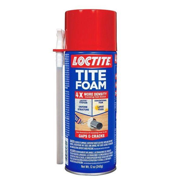 Henkel-Loctite Tite Foam Insulating Foam Sealant, White