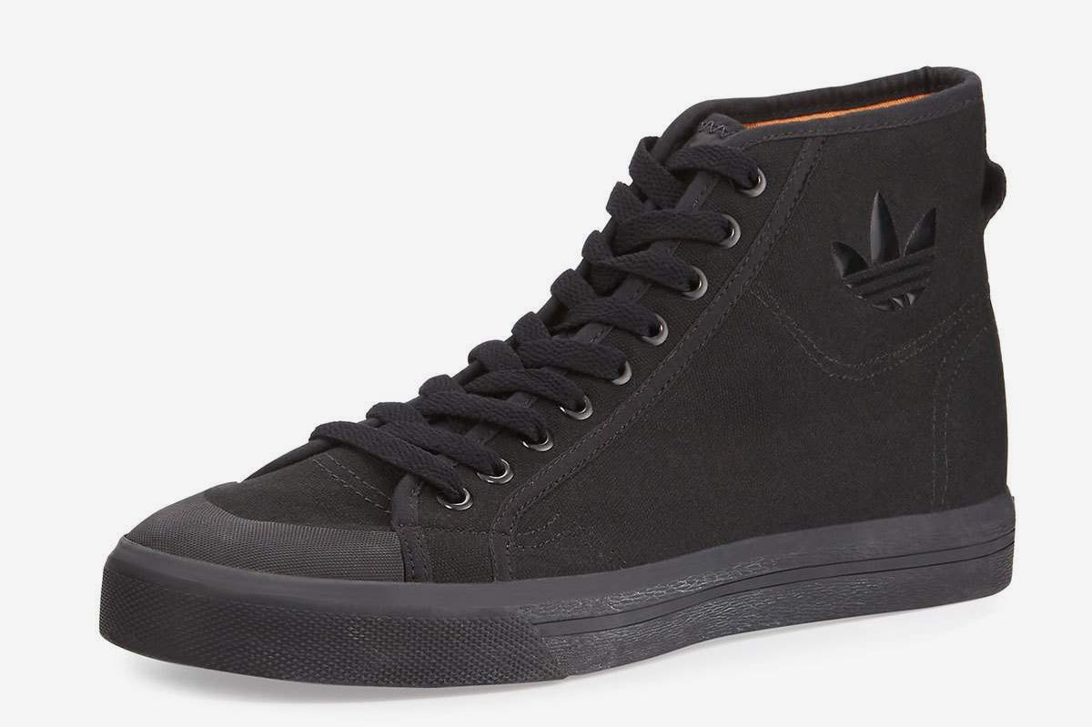 Adidas by Raf Simons Spirit Canvas High-Top Sneaker