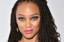 Tyra Banks, zen mom. Photo by Araya Diaz/Getty Images