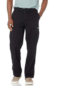 Unionbay Men's Survivor IV Relaxed-Fit Cargo Pants (Black)