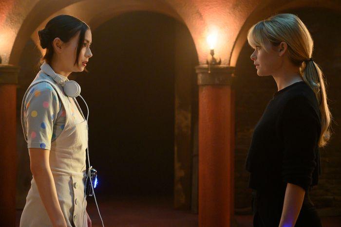 Lauren Tsai as Switch, Rachel Keller as Syd Barrett.