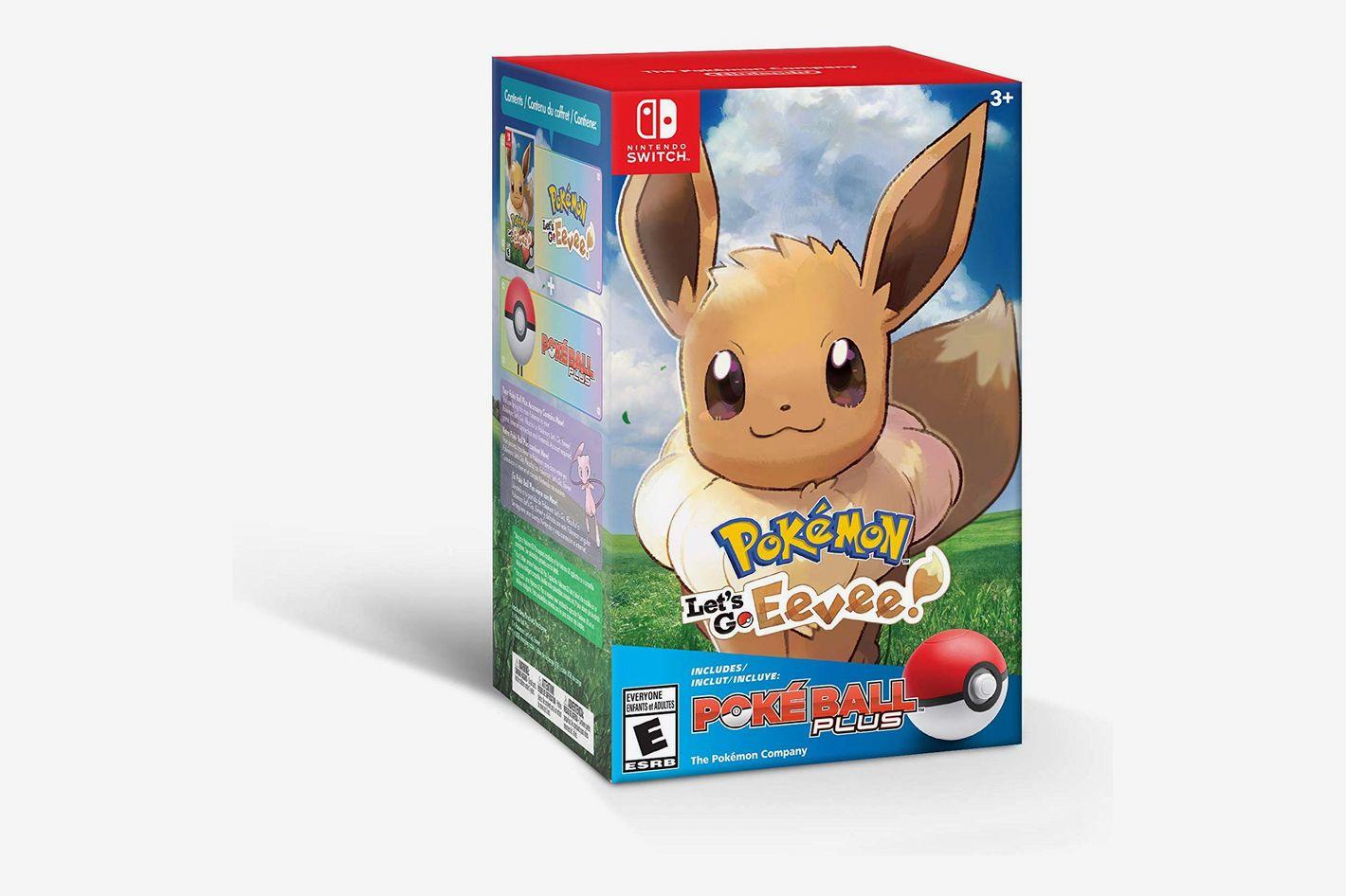 <em>Pokémon: Let's Go, Eevee! + Poké Ball Plus Pack</em>