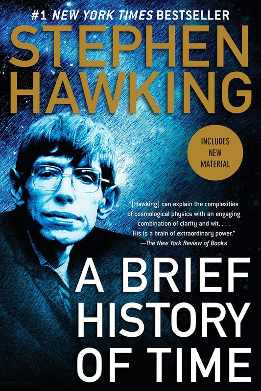 <em>A Brief History of Time</em> by Stephen Hawking