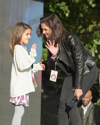 Cultured child Suri Cruise