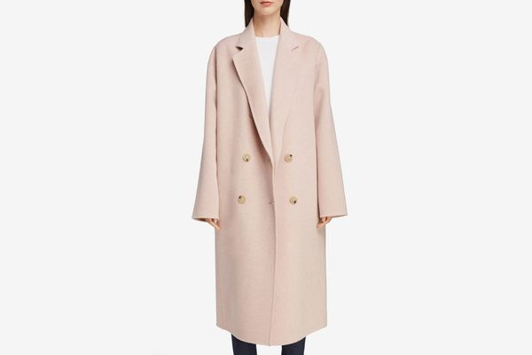 Acne Studios Odethe Double Breasted Wool and Cashmere Coat