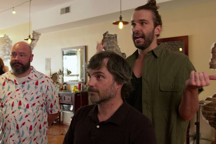 queer eye recap season 1 episode 5 camp rules. Black Bedroom Furniture Sets. Home Design Ideas