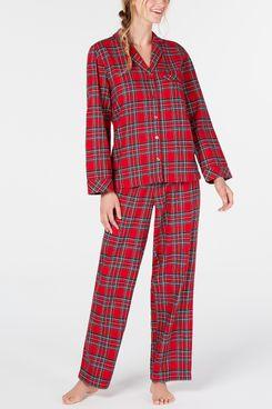 Family Pajamas Matching Women's Brinkley Plaid Family Pajama Set