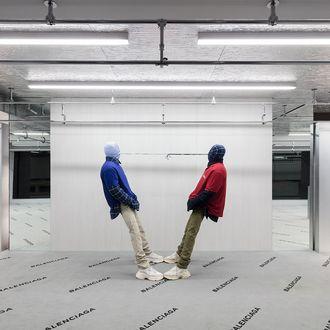 Balenciaga Store Has Runway Carpeting