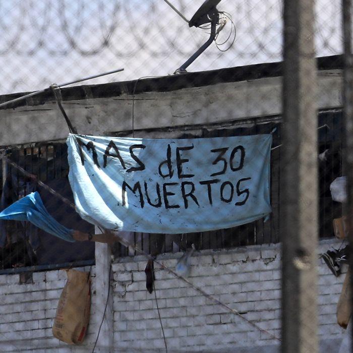 La Modelo prison in Bogot´a, Colombia.