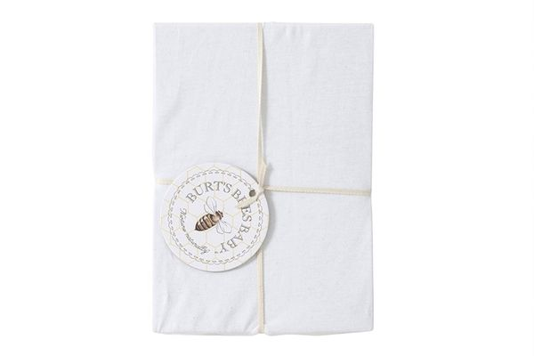 Burt's Bees Baby — Solid Fitted Crib Sheet