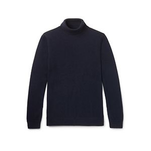 Merino Wool Rollneck Sweater