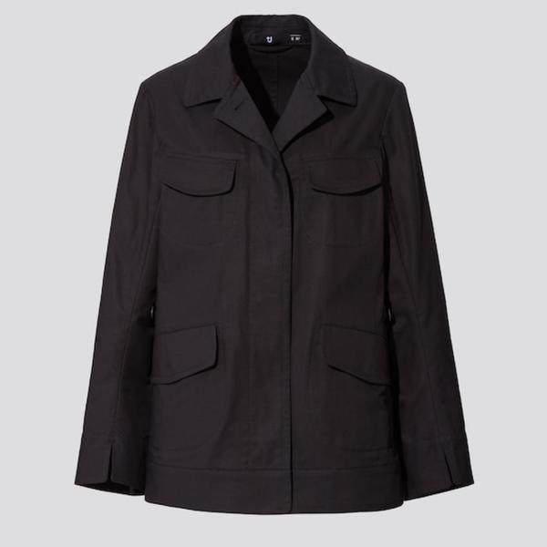 Uniqlo +J Cotton-Linen Safari Jacket