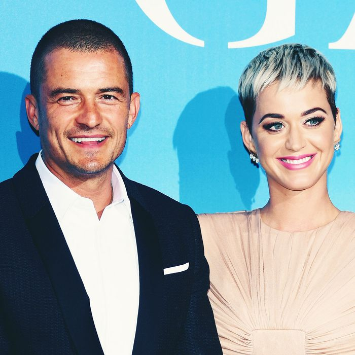 Orlando Bloom and Katy Perry.