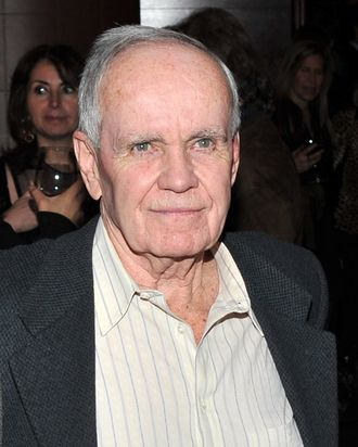 NEW YORK, NY - FEBRUARY 01: Writer Cormac McCarthy attends the HBO Films & The Cinema Society screening of