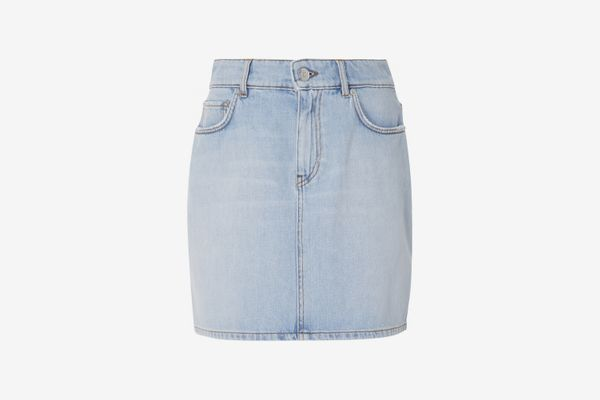 Ganni Denim Mini Skirt