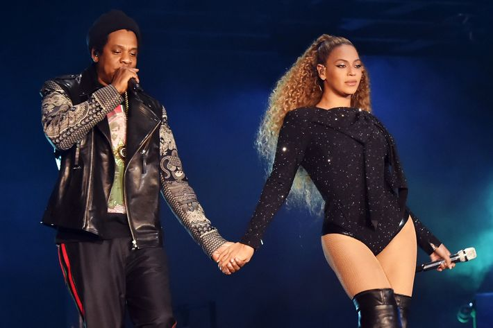 Beyoncé and Jay-Z.