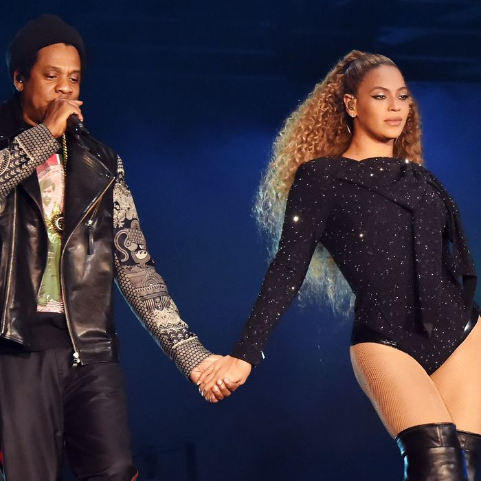 Beyoncé and Jay-Z.
