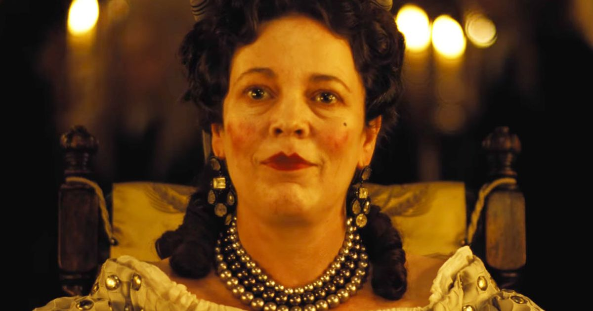 Image result for olivia colman the favorite