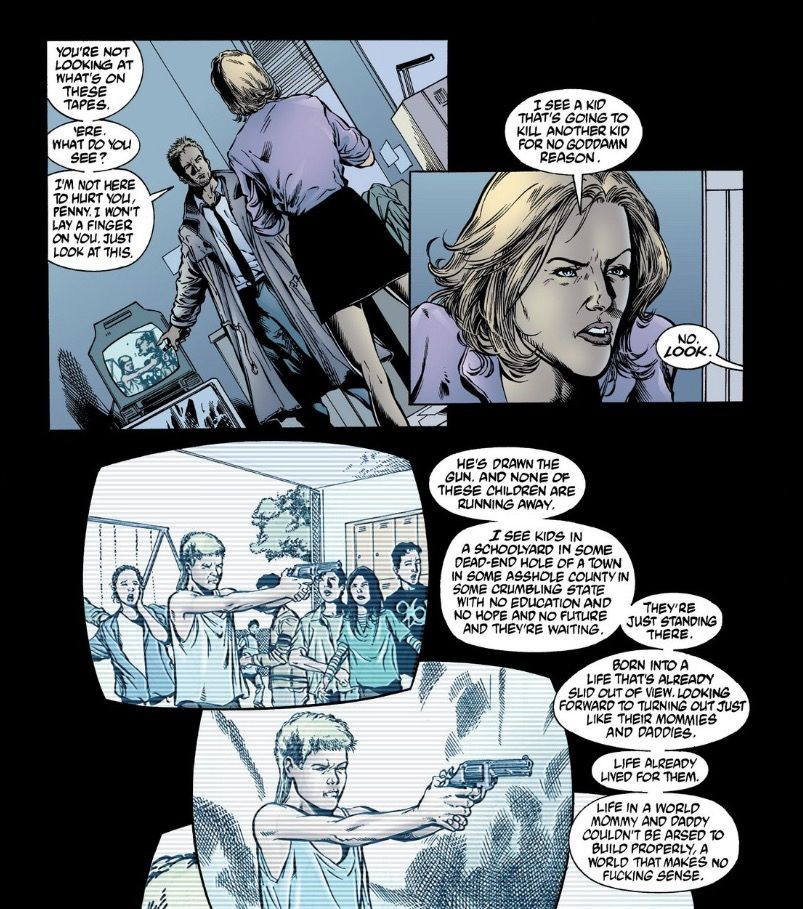 Getting fucked by life comic The Secret History And Uncertain Future Of Comics Character John Constantine