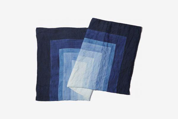 Summerill x Bishop x Goop Shades of Blue Table Cloth