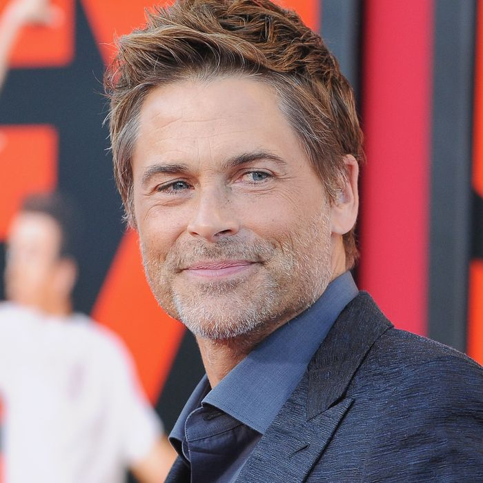 WESTWOOD, CA - JULY 10: Actor Rob Lowe arrives at the Los Angeles Premiere