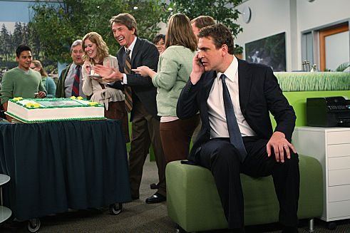 """Field Trip""  --  Marshall (Jason Segel) witnesses his boss, Garrison Cootes' (guest star, Martin Short) soft approach in settling with a million dollar company, he takes matters into his own hands, on HOW I MET YOUR MOTHER, Monday, Oct. 10 (8:00-8:30 PM, ET/PT) on the CBS Television Network.  Photo: MONTY BRINTON/CBS ?2011 CBS BROADCASTING INC. All Rights Reserved."