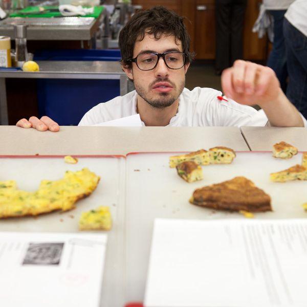 <i>Cook's</i> veteran Dan Souza at work.