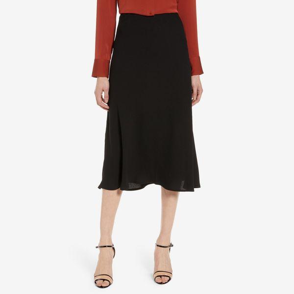 black halogen cut a line skirt - strategist nordstrom anniversary sale