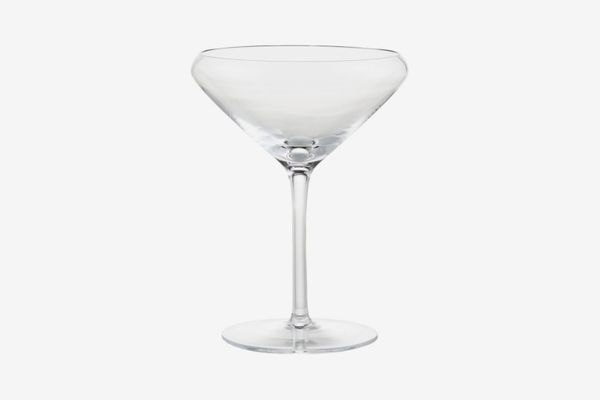 CB2 x Jennifer Fisher Don't Spill Your Martini Glass