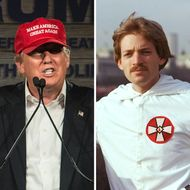 Donald Trump and David Duke