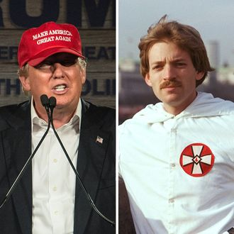 Donald Trump and David Duke