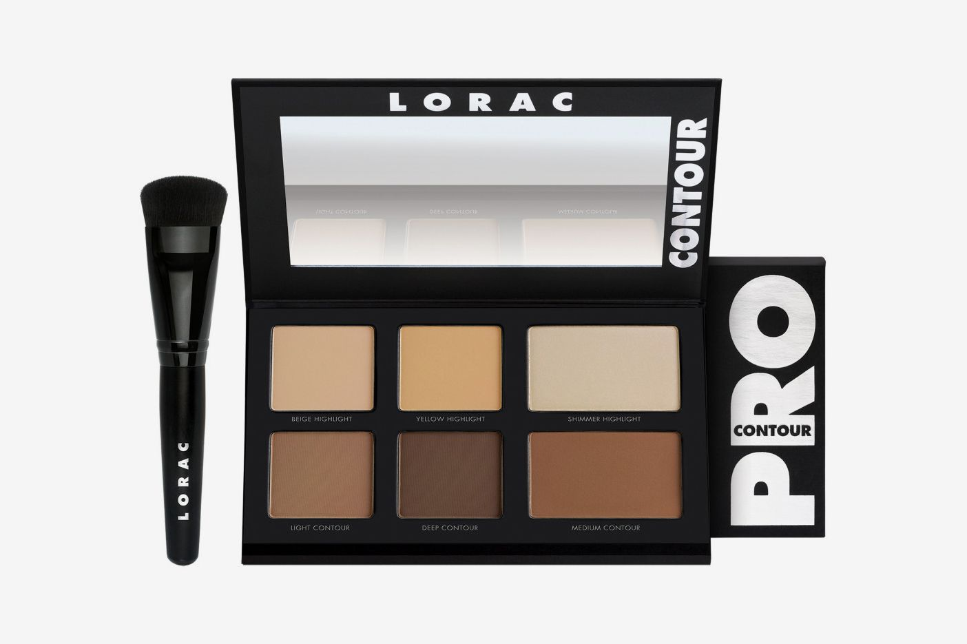 Lorac Pro Contour Palette with Brush