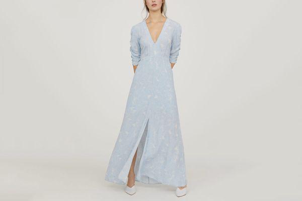 Patterned Long Dress