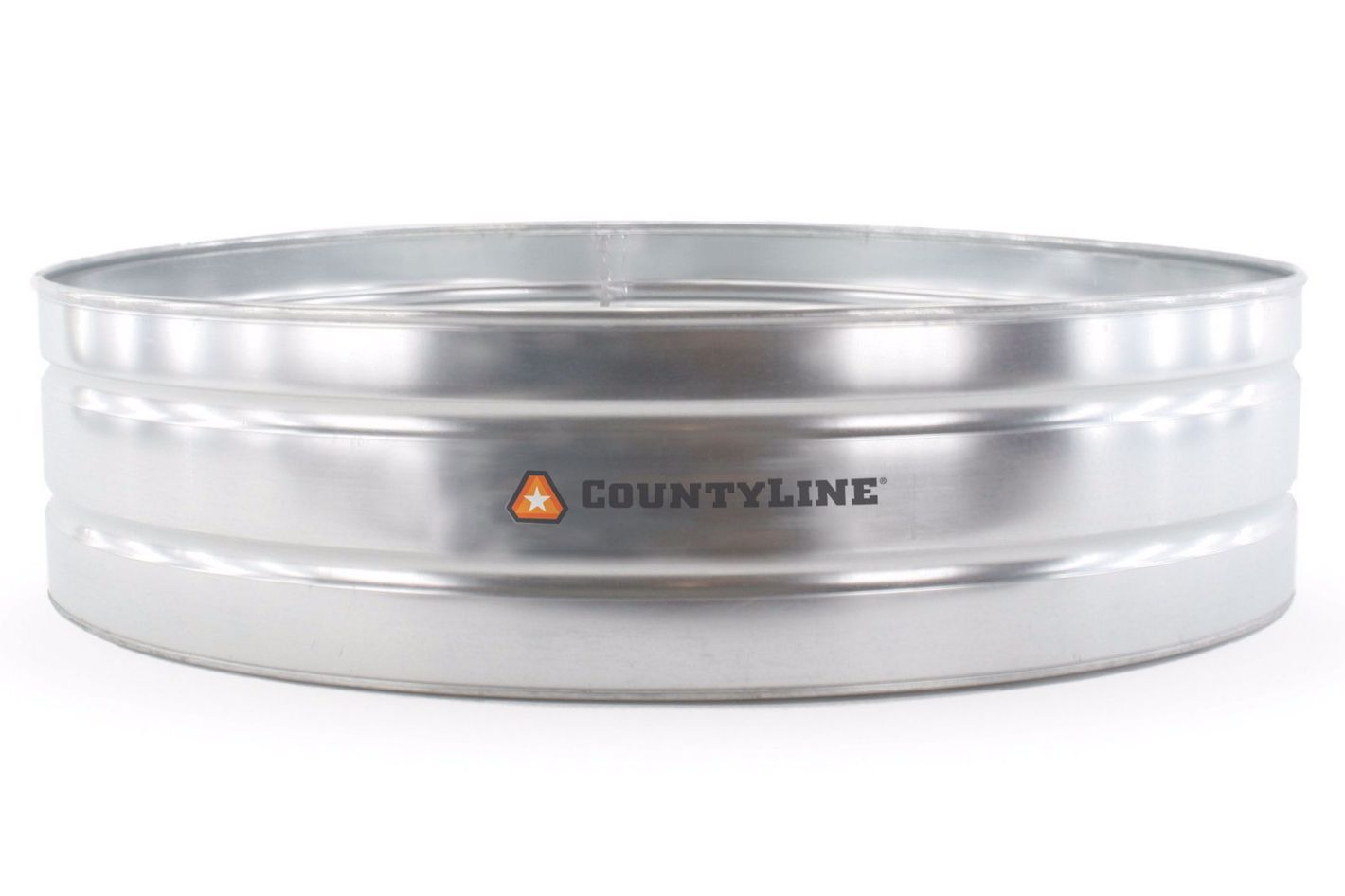 CountyLine Galvanized Round Stock tank, 8 ft. x 2 ft.